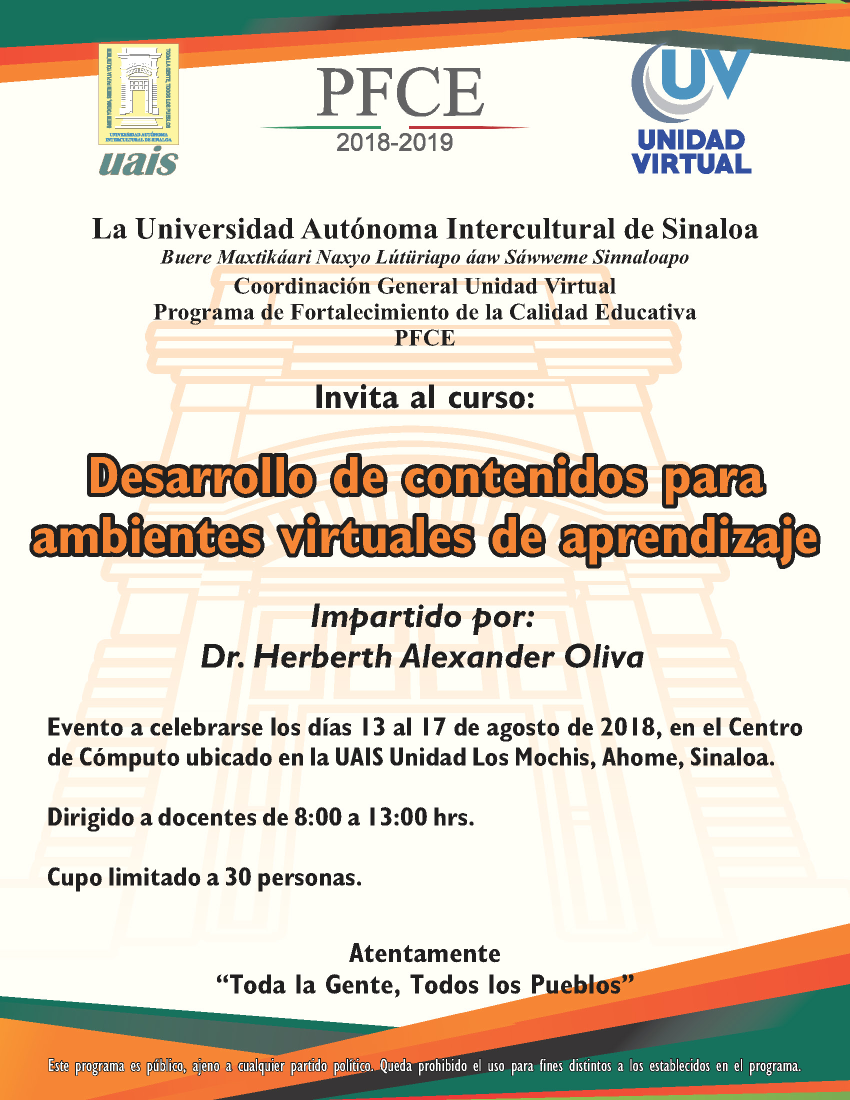 CONVOCATORIAS VIRTUAL Página 6